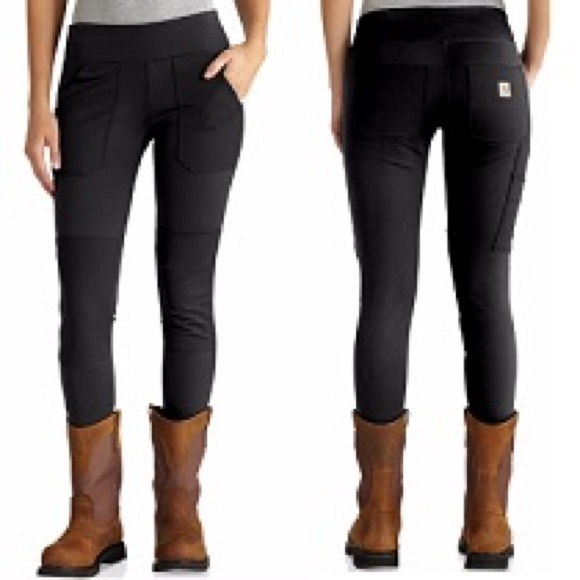 aa867bc009d52 Carhartt Pants | Force Womens Knit Utility Leggings | Poshmark